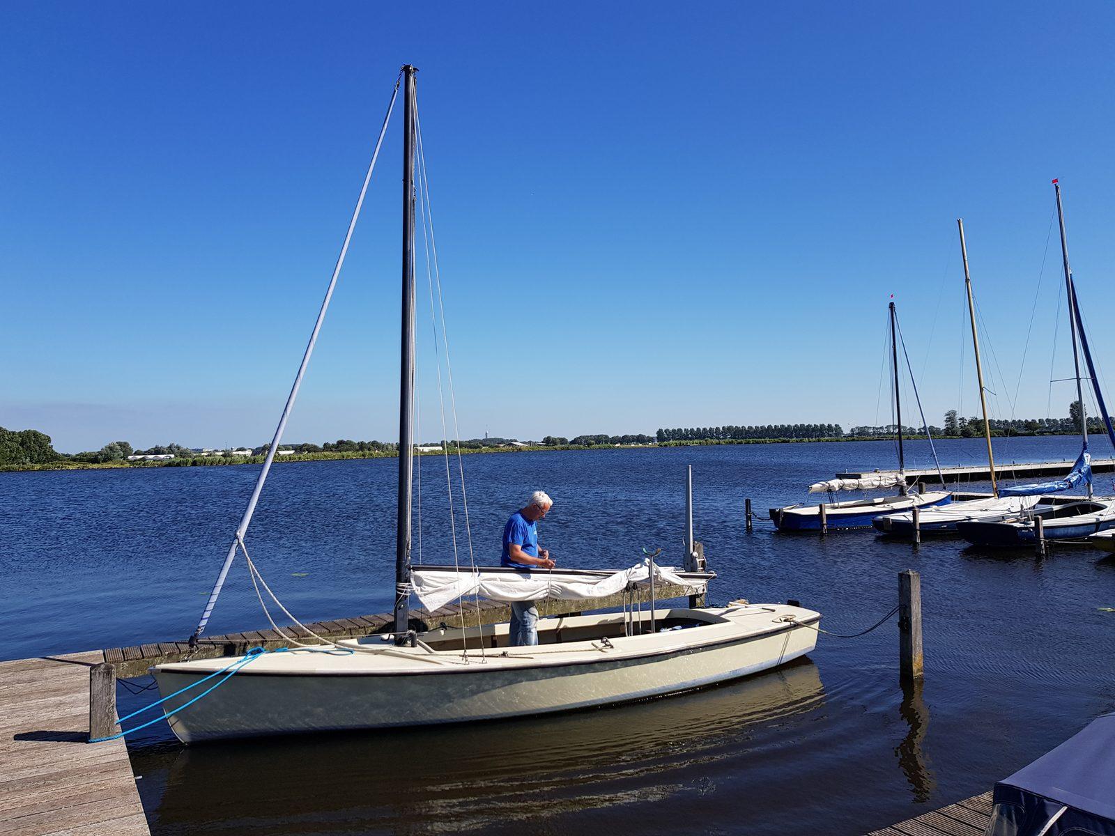 Segelboot-Verleih für Parkgäste