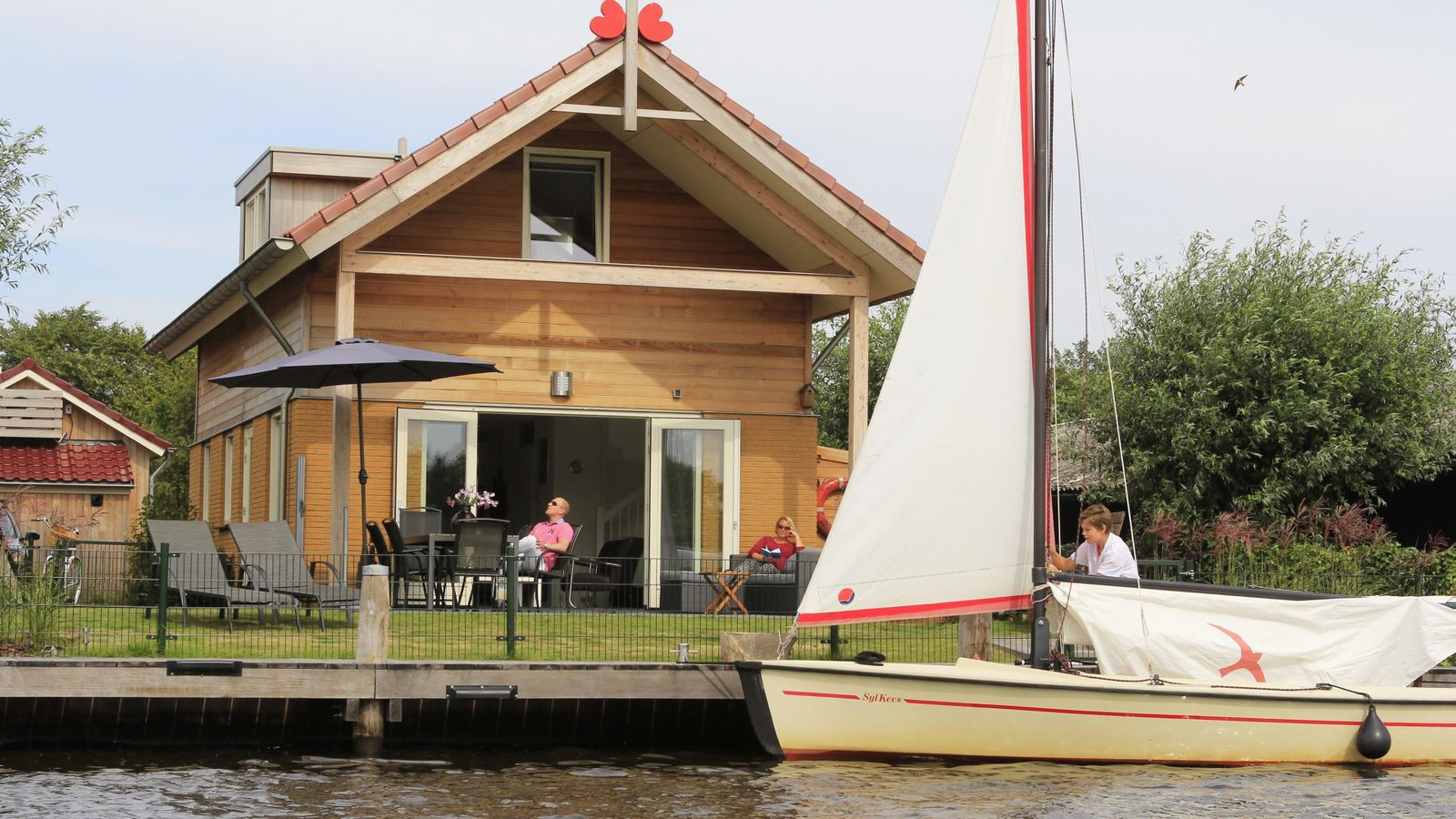 Holiday home Friesland lakes