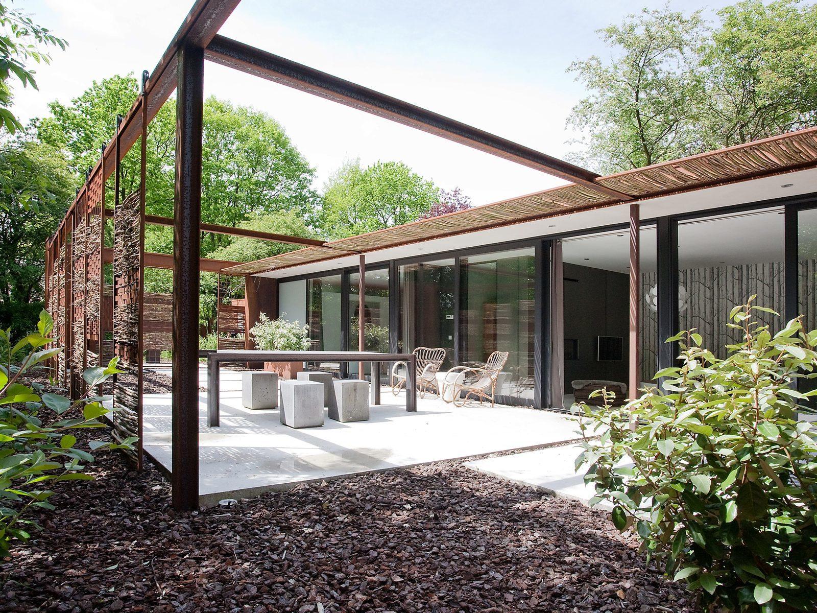 Stalen Boshuis natuurhuisje in Brabant