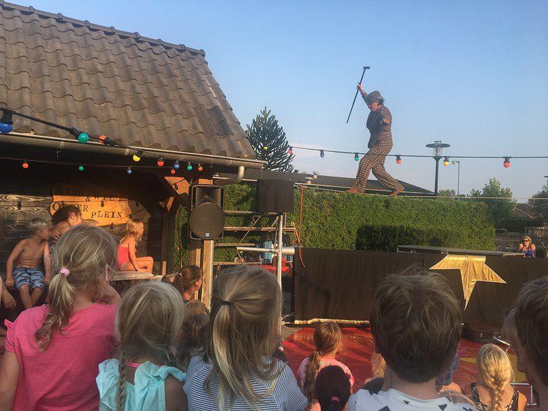 Circusdag op Recreatiepark De Boshoek