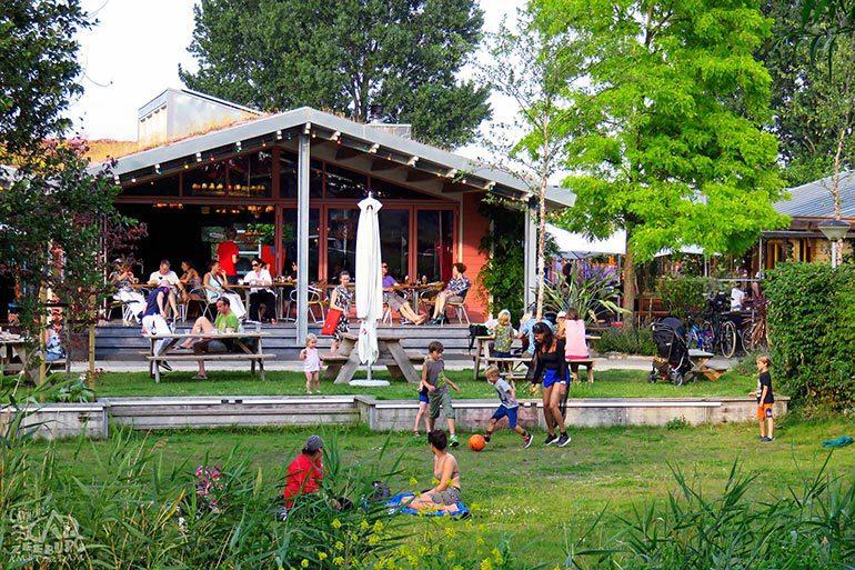 Restaurant auf dem Campingplatz Zeeburg