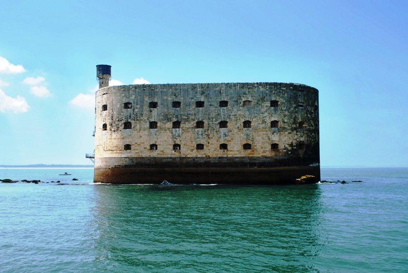Fort Boyard bij ile d'Oleron