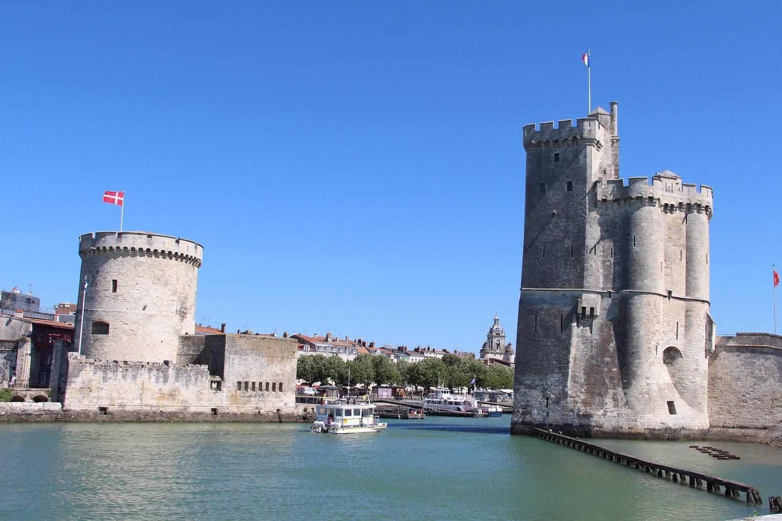 de haven van la Rochelle in de Charente Maritime Frankrijk