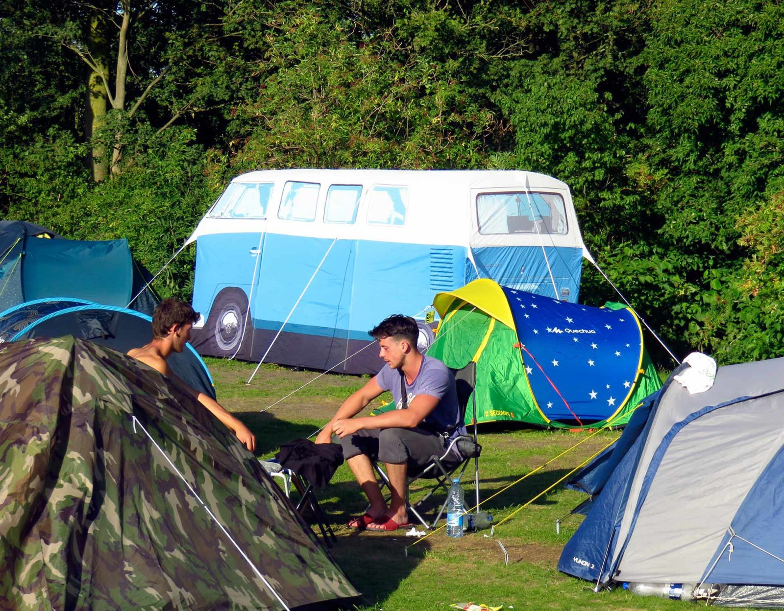 Inexpensive camping at Campsite Zeeburg Too