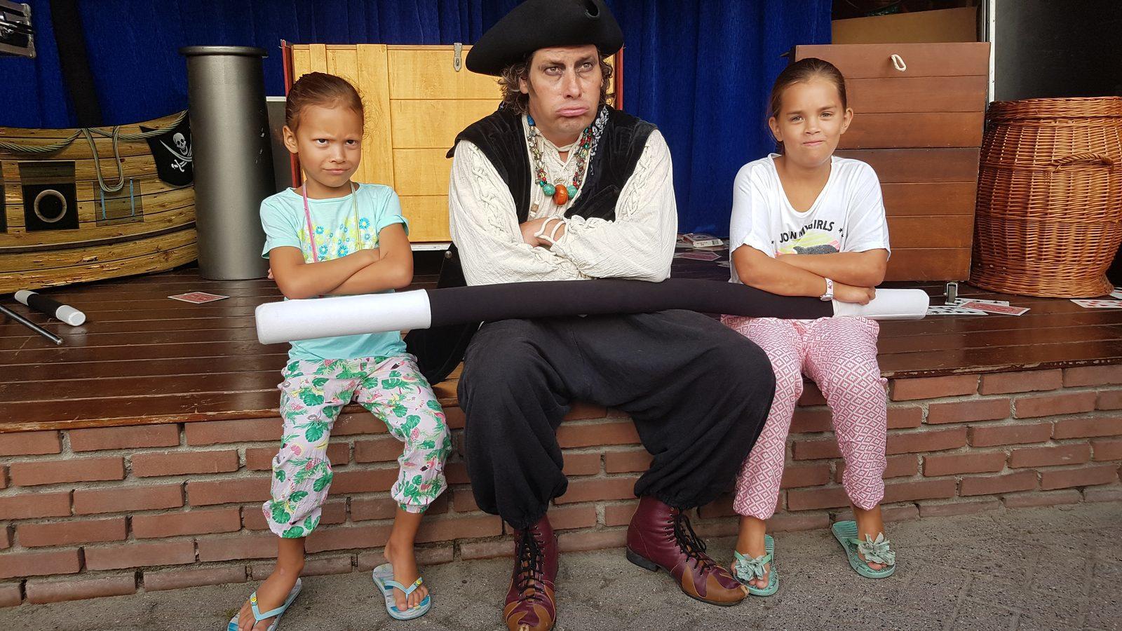 Zeebeen show op De Boshoek