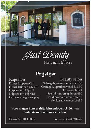 Beauty salon and nail studio at Holiday Park De Boshoek in Voorthuizen