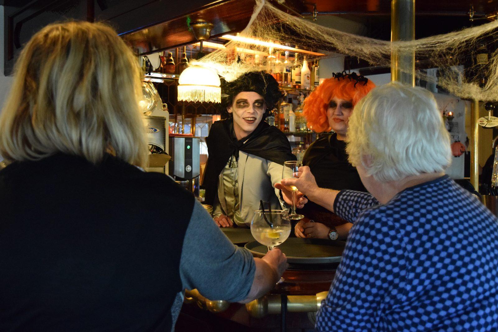 Vier Halloween op Recreatiepark De Boshoek in Voorthuizen op de Veluwe