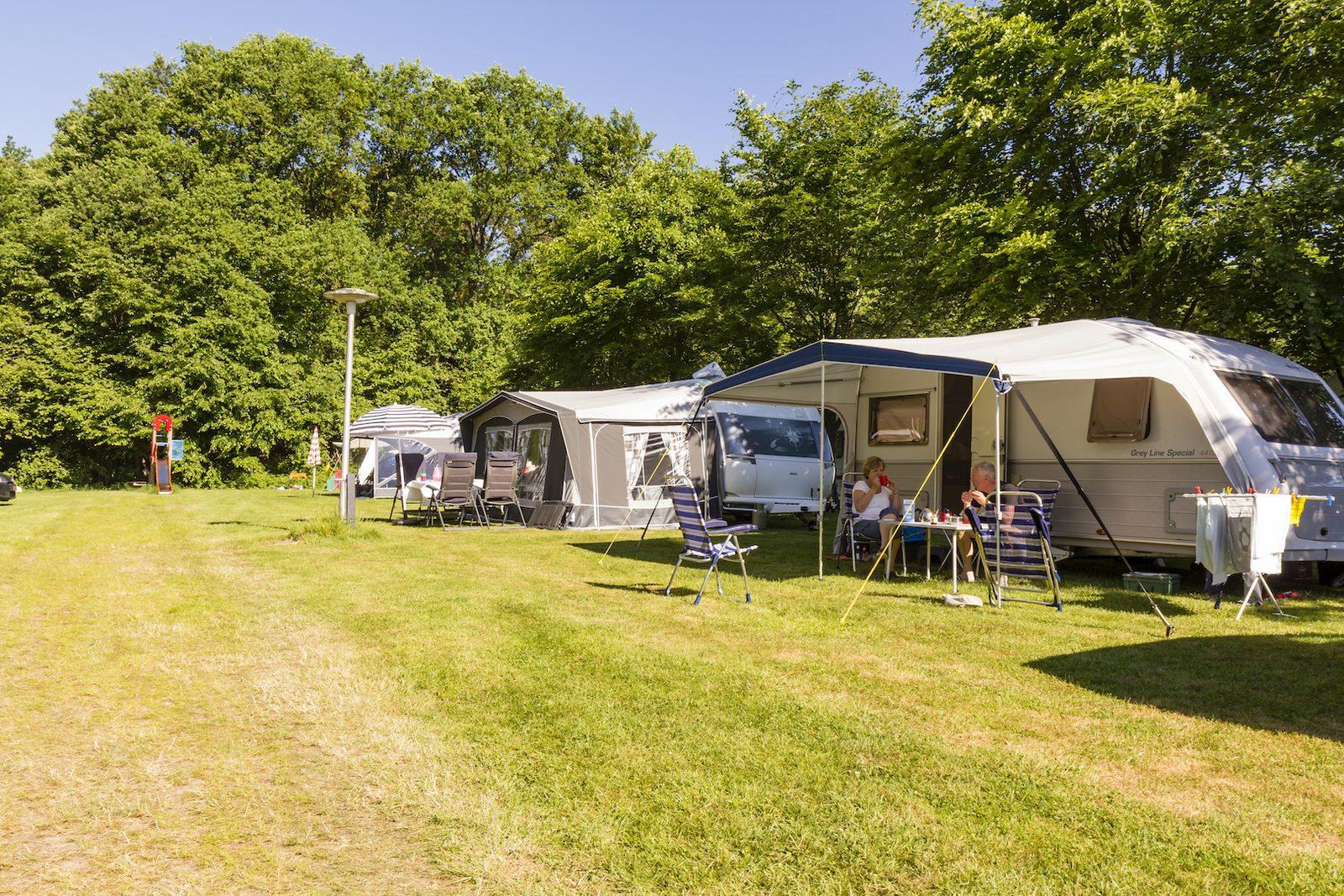 Camping In Twente Met Een Zwembad De Witte Berg