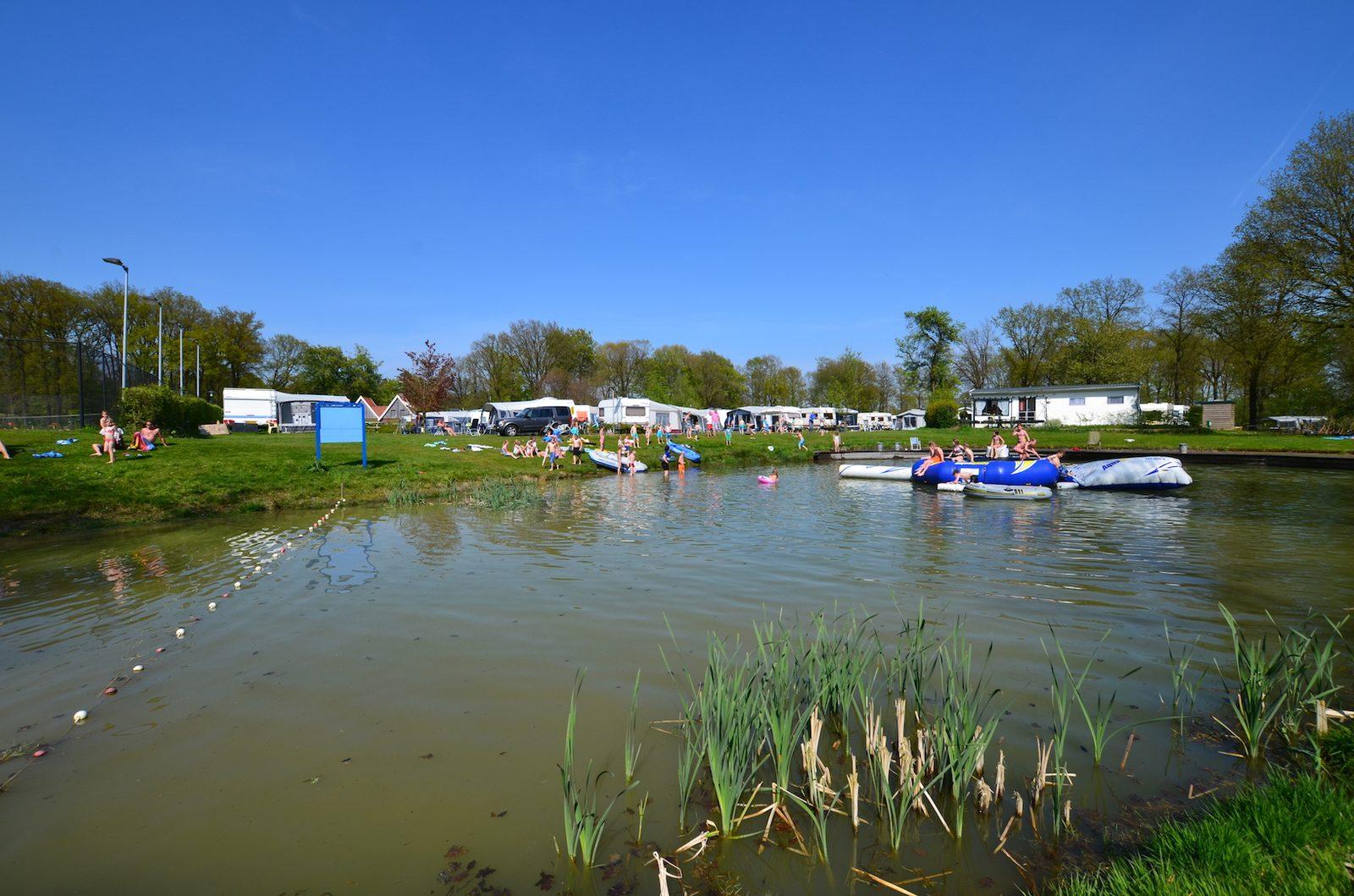 Prachtige camping met viswater