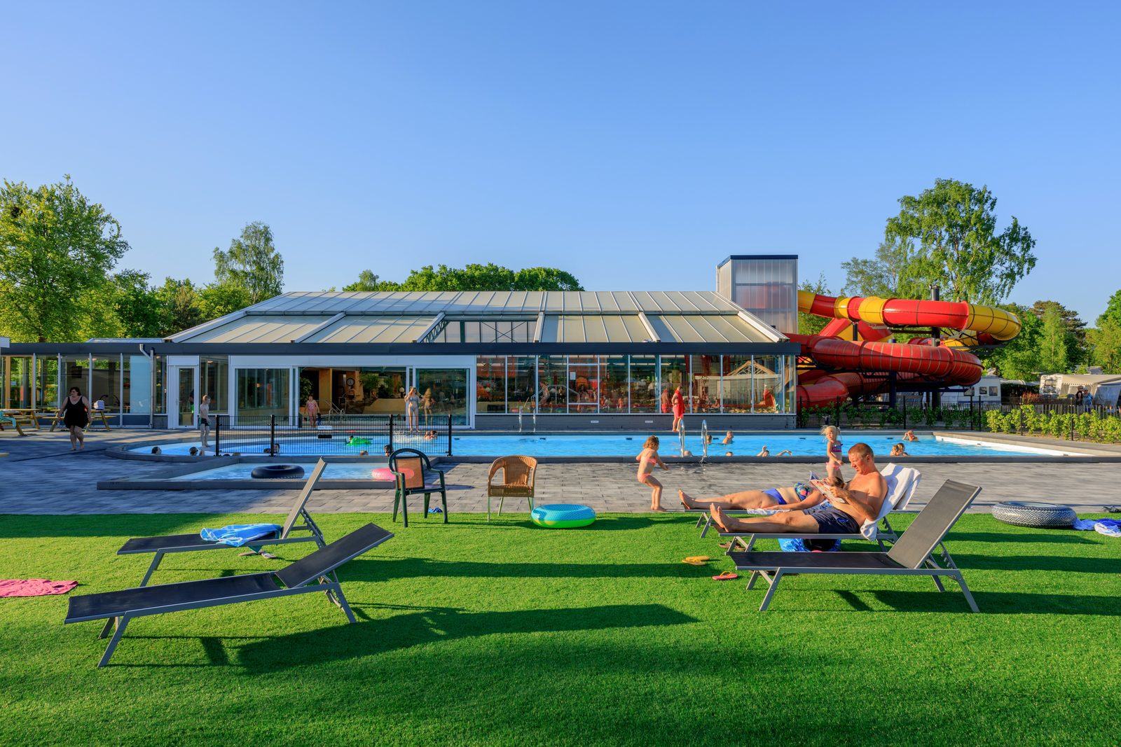 Holiday park Veluwe with pool