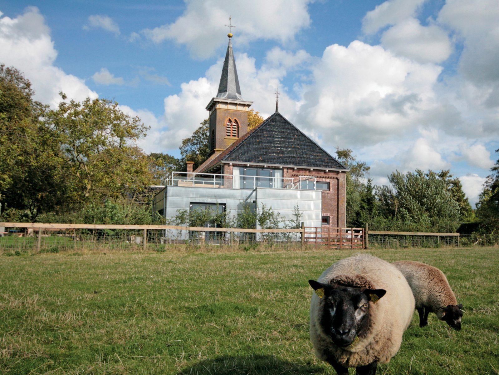 Vakantiehuis de Grutte Tsjerke in Friesland