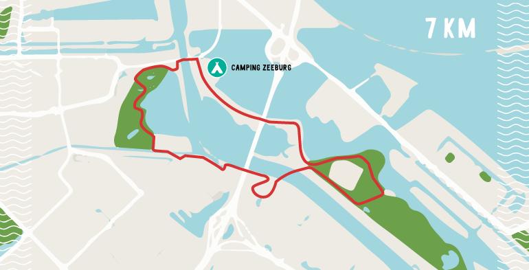 de drie parken route