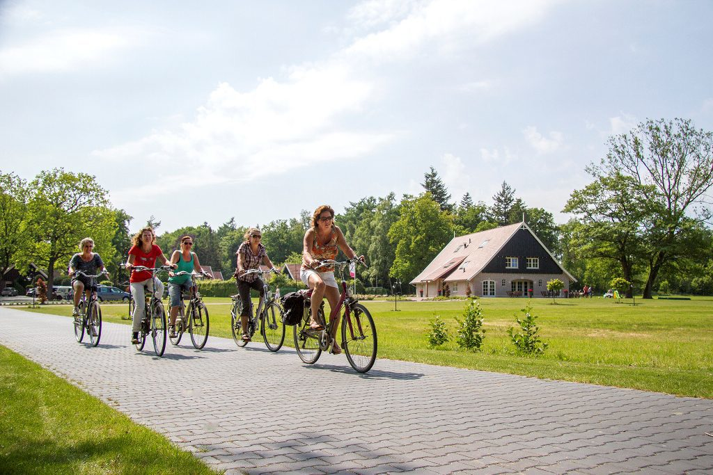Fietsen combineren met een overnachting op landgoed 't Borghuis. www.borghuis.nl