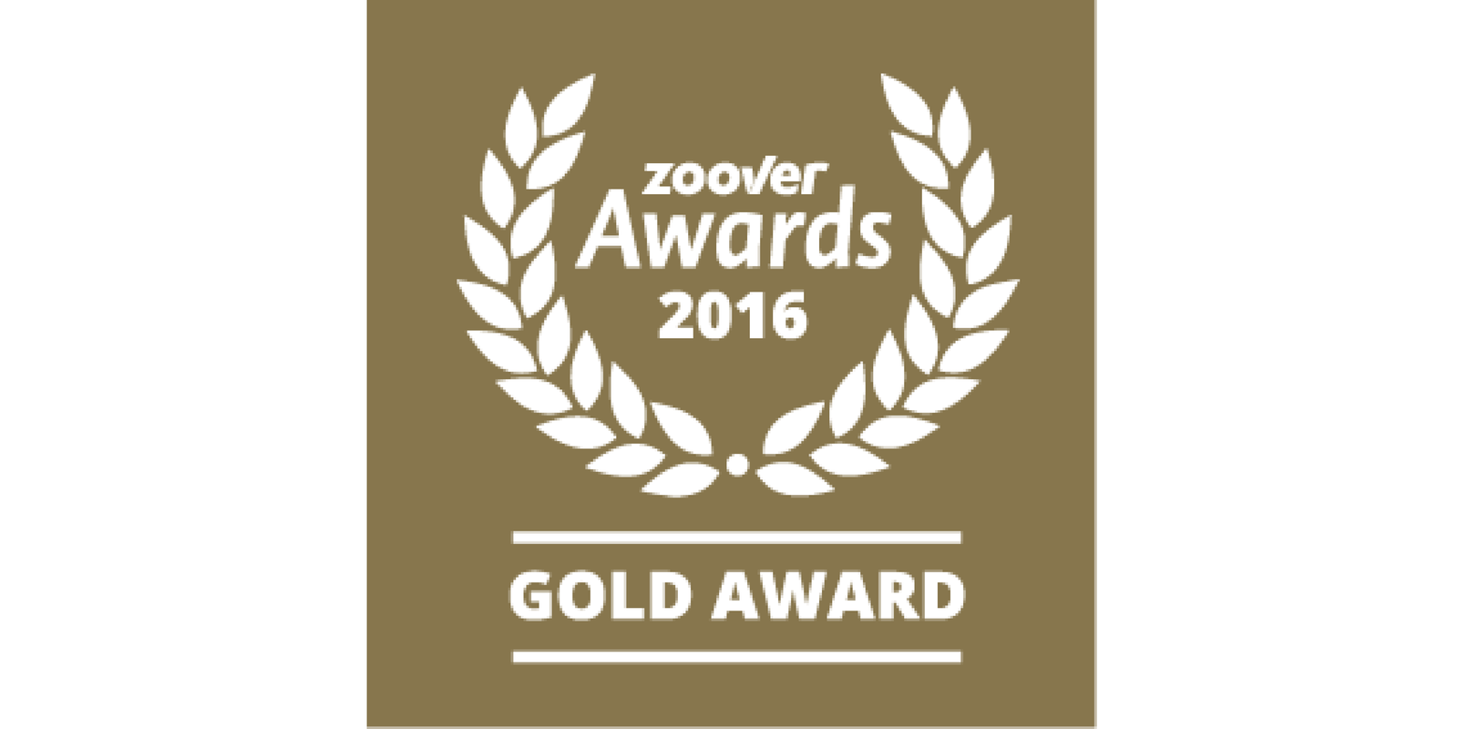 Golden Zoover Award