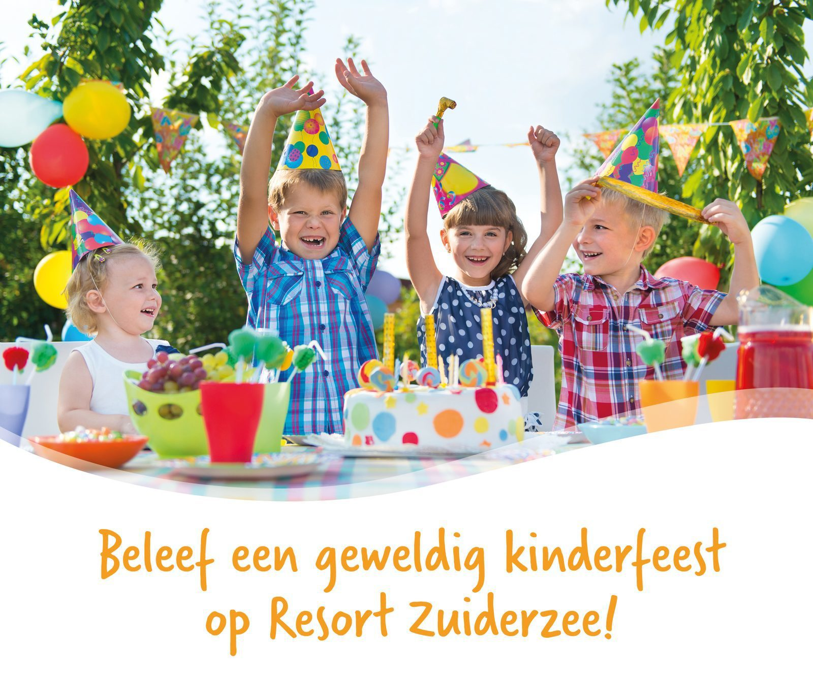 Children's party at Resort Zuiderzee