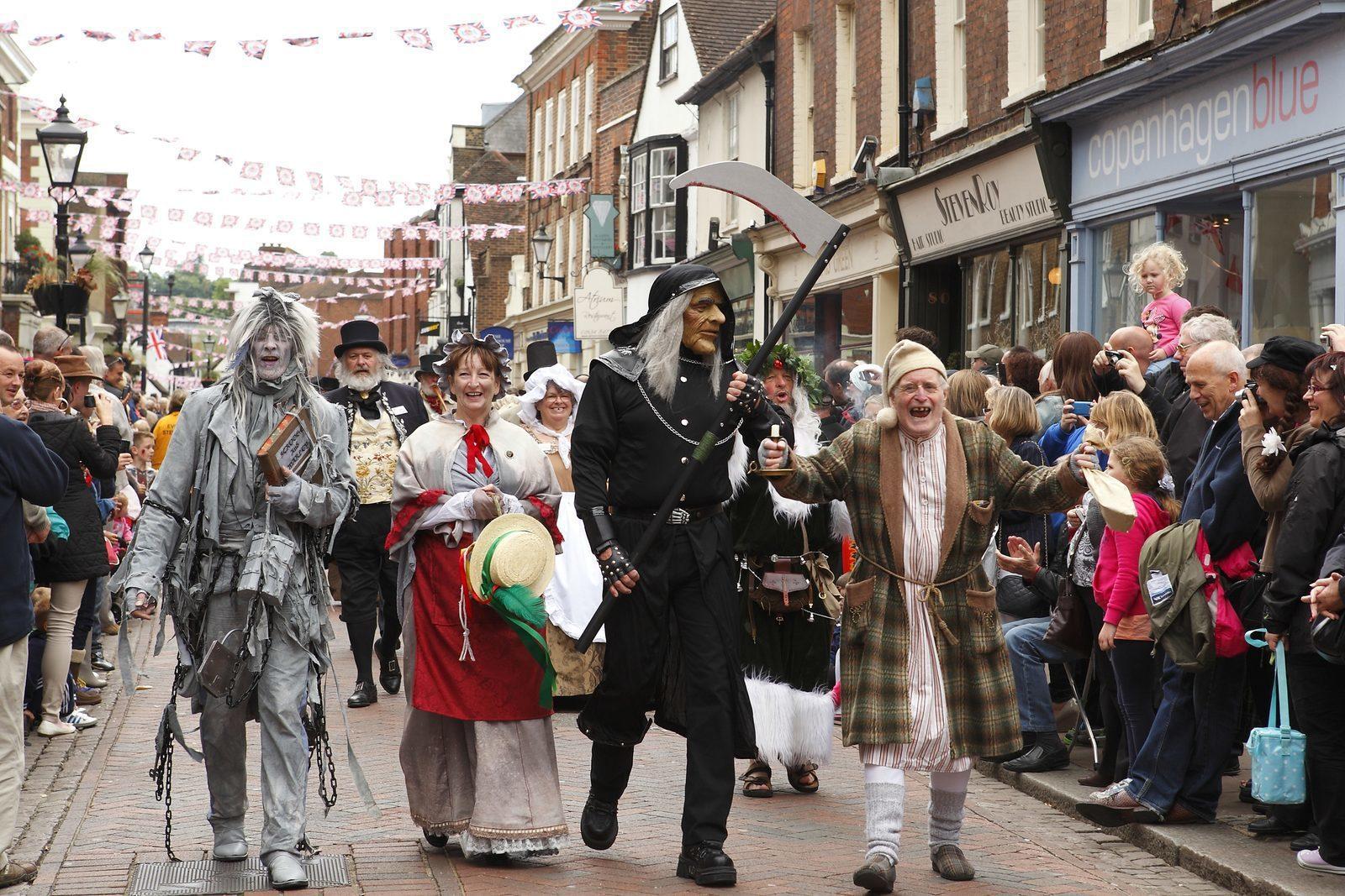 The annual Dickens Festival in Deventer
