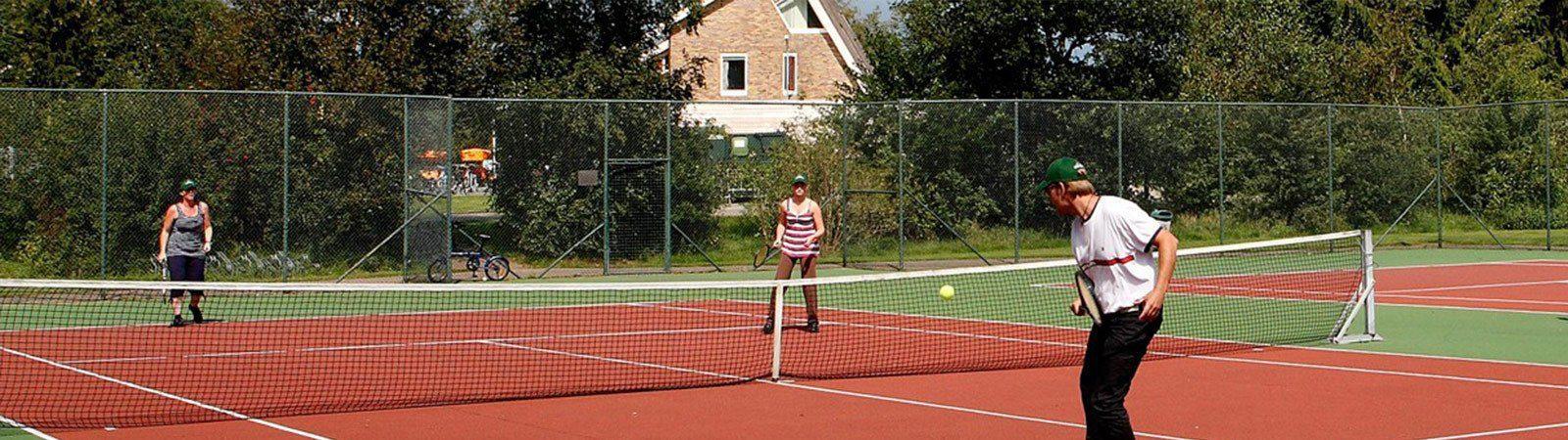 Tennisbanen | Vakantiepark Witterzomer