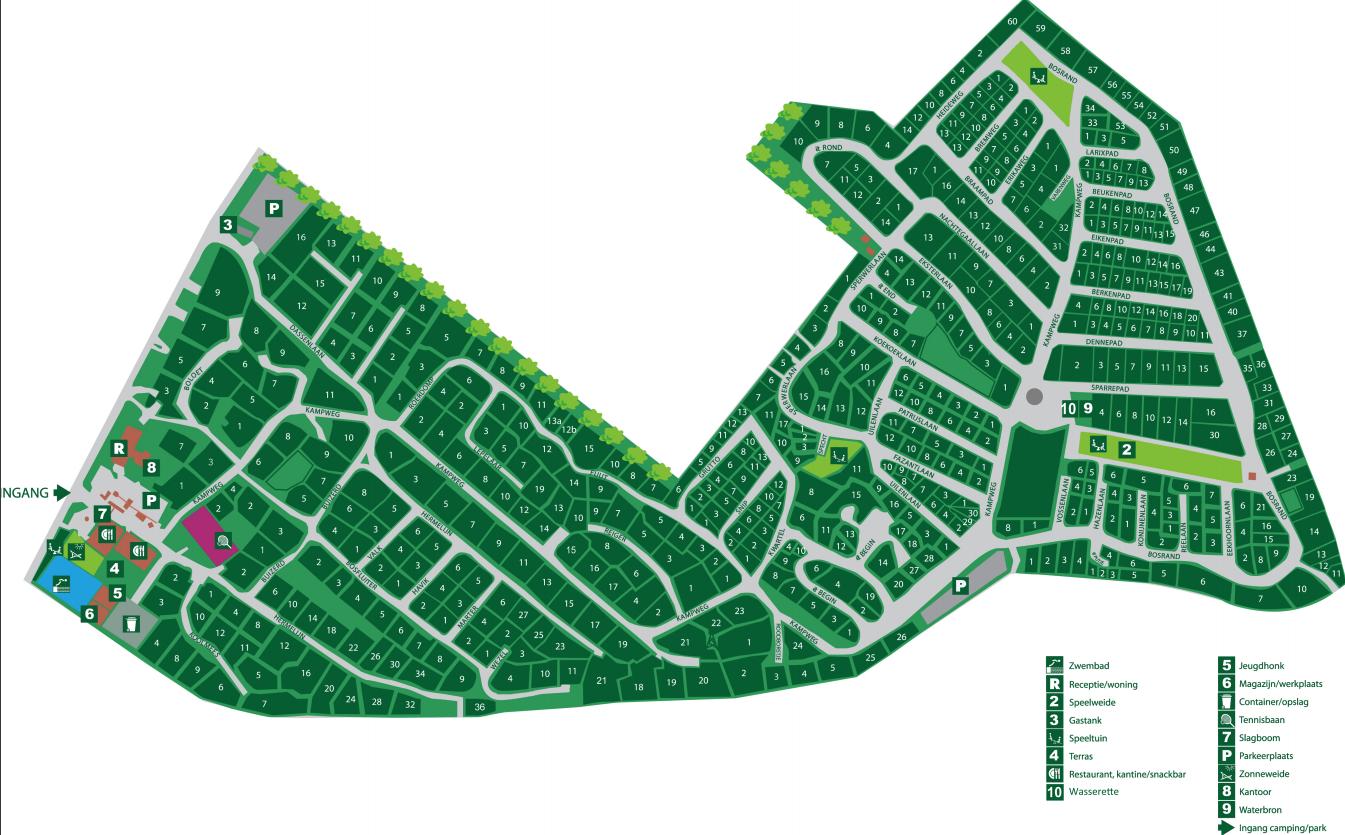 Map De Ossenberg