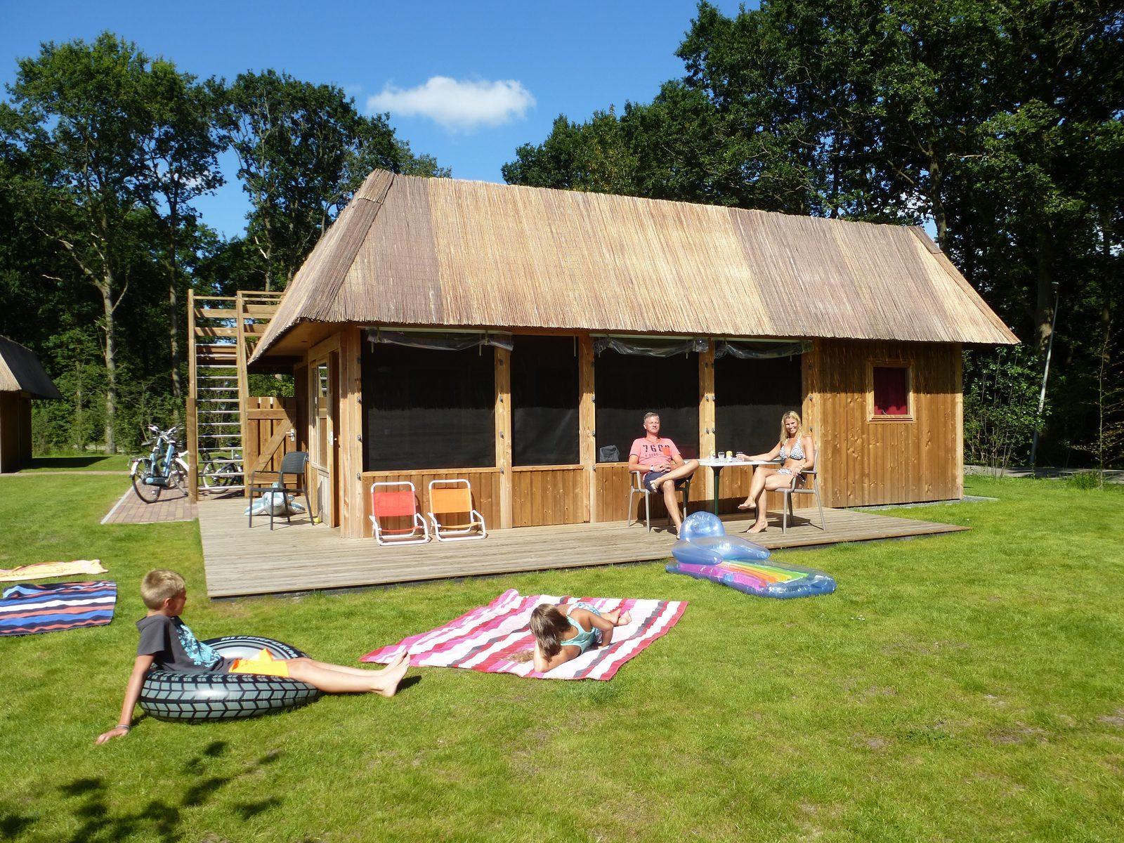 Tijdelijke woonruimte vakantiepark Drenthe