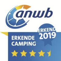 ANWB 4,5 sterren - Erkende Camping 2019 | De Witte Berg