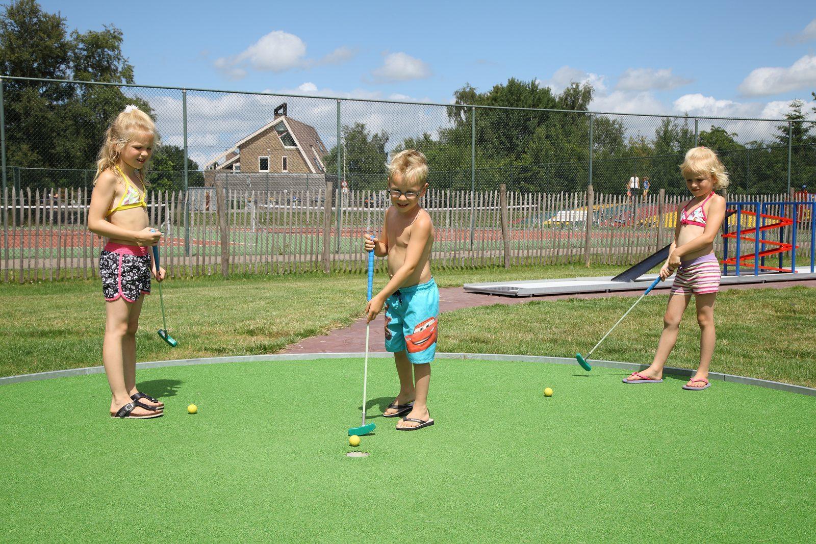 Midgetgolf in Drenthe