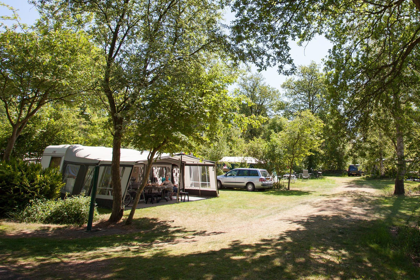 Camping midden Drenthe