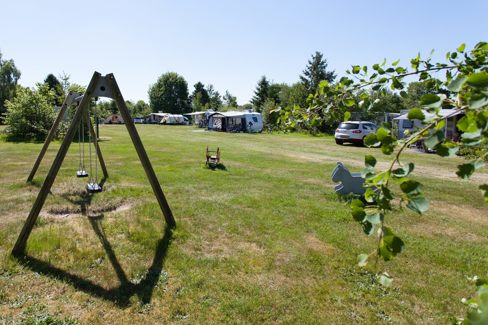 Camping in midden Drenthe
