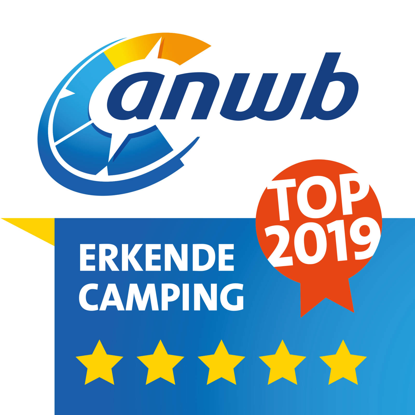 ANWB recognized great campsite 2018