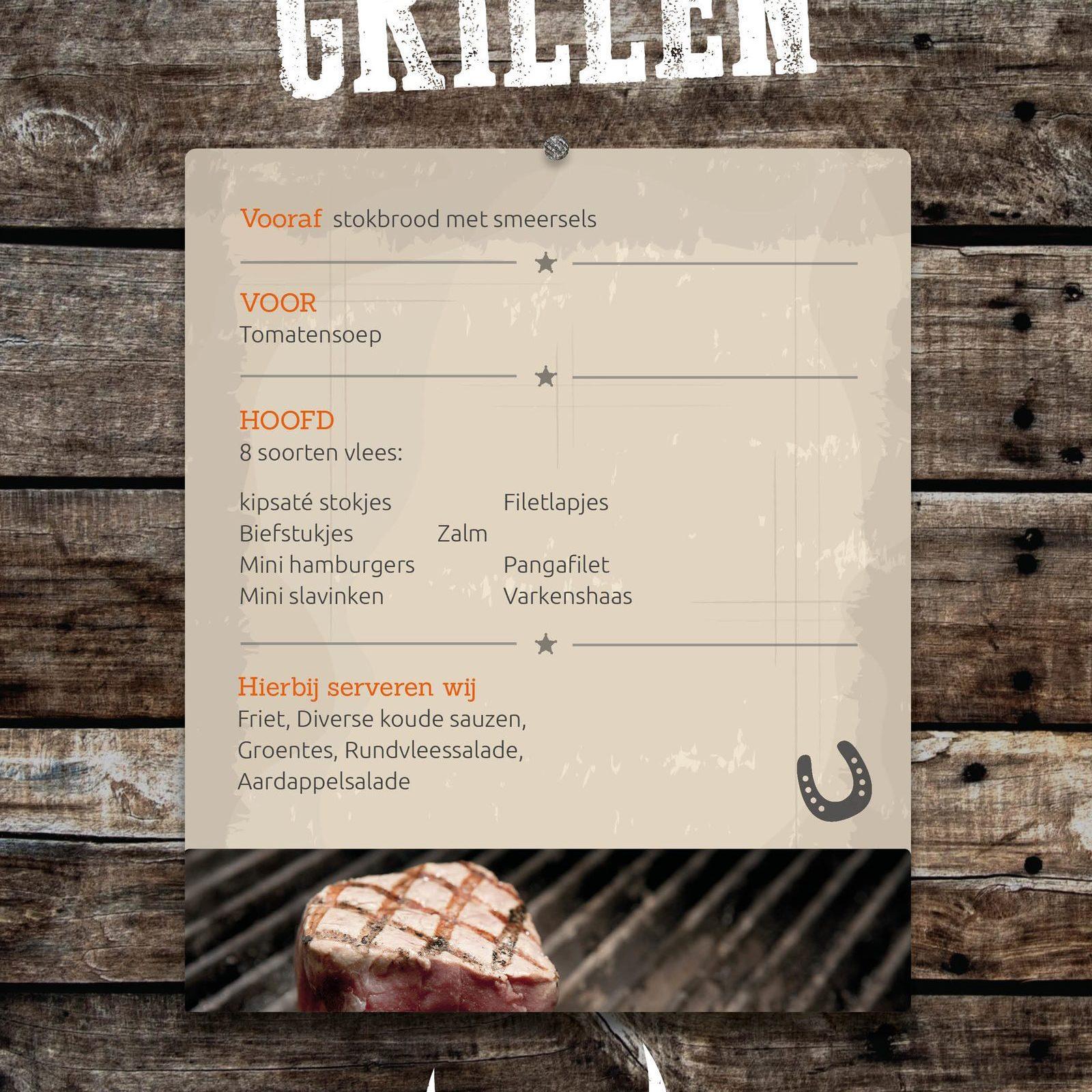 Grill bij Events op de Veluwe in Voorthuizen