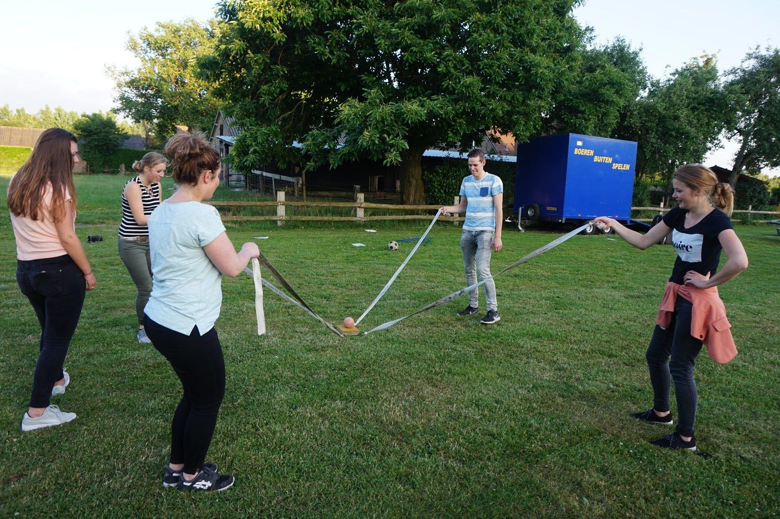 Boeren Buitenspelen gezellige activiteit in Voorthuizen