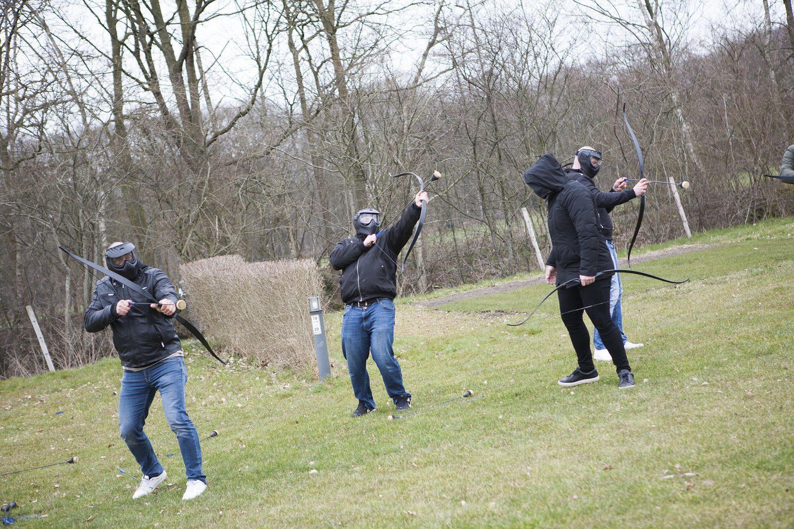 Archery Tag - Bedrijfsuitje