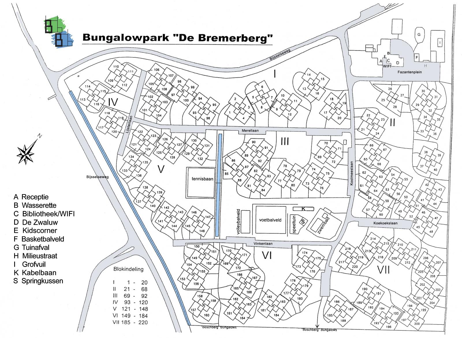 Plattegrond | De Bremerberg