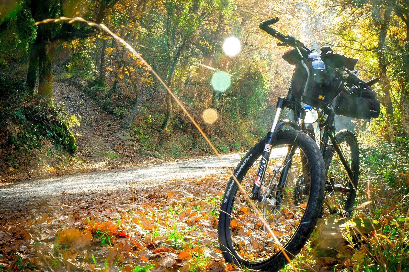 Fahrradroute Netzwerk