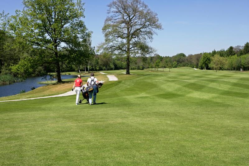 Wandeling naar Golfbaan Sybrook