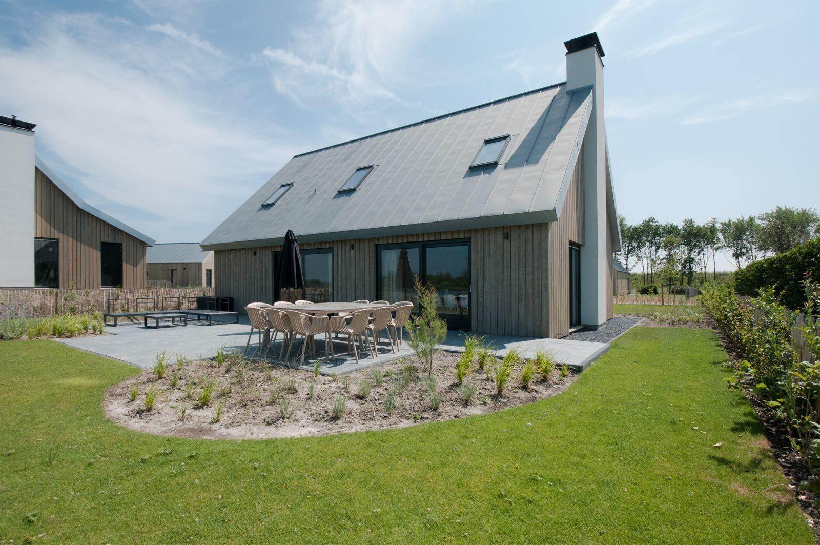 Vakantiehuis 10 personen Zeeland