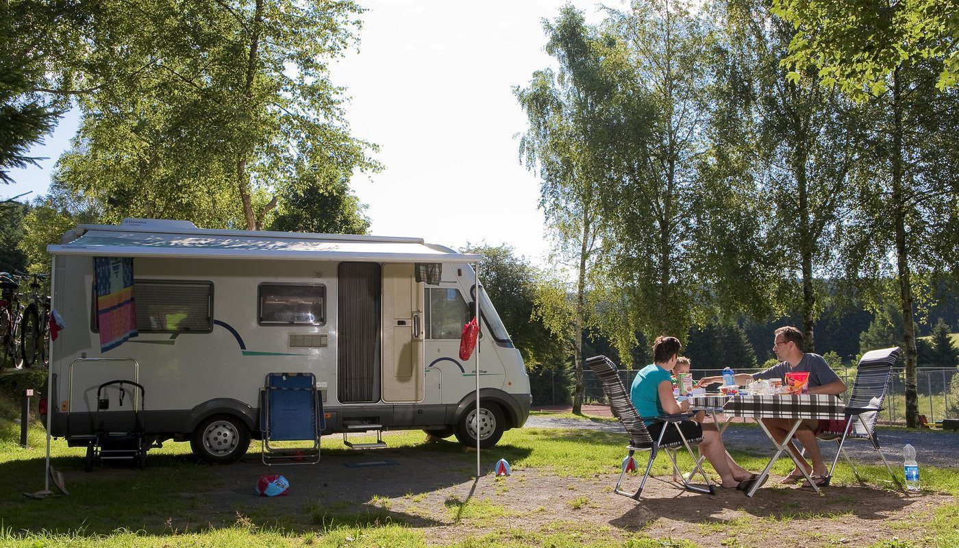 Camperplaats Ardennen