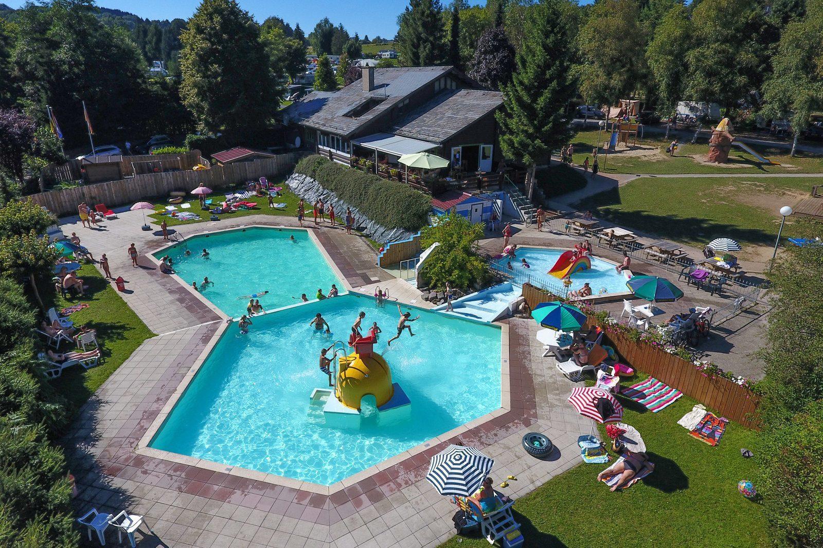 Camping in Ardennen met zwembad