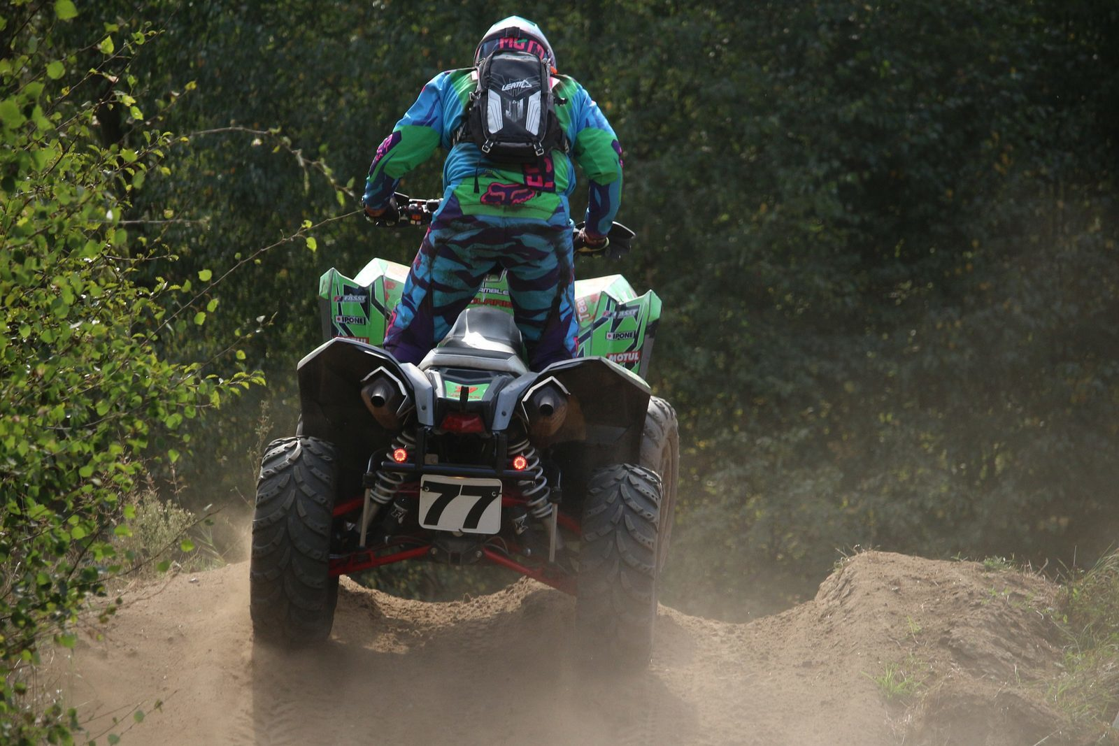 Pamper Jump/quad riding