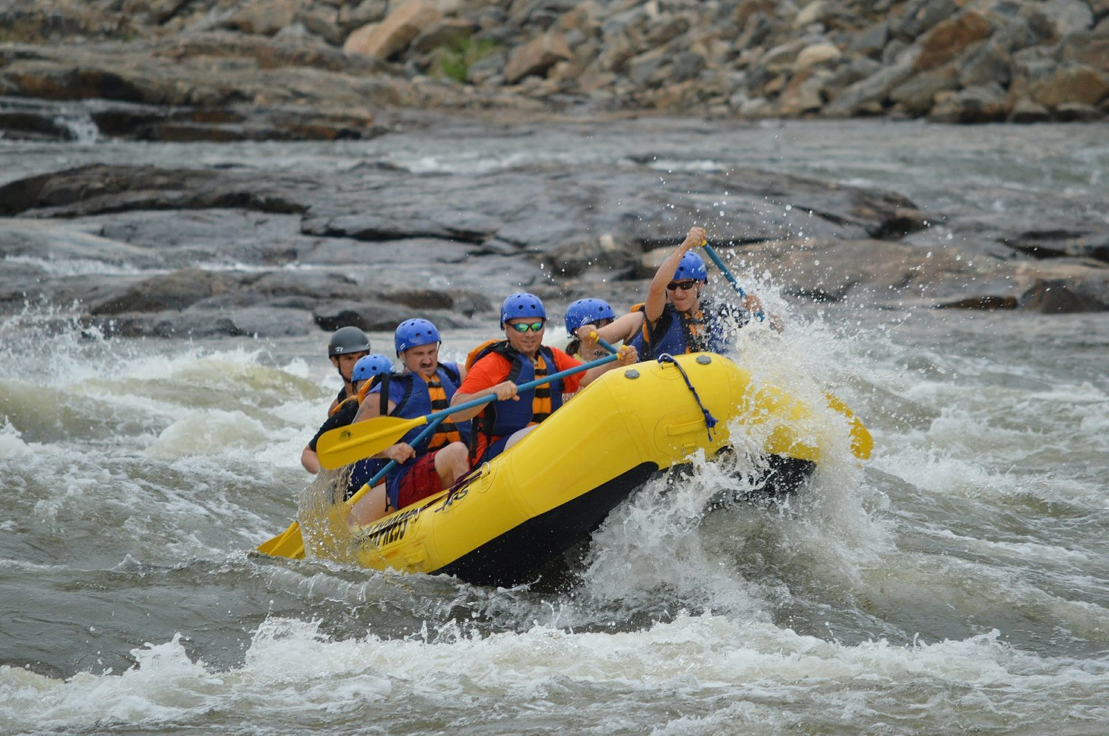 Rafting dans les Ardennes