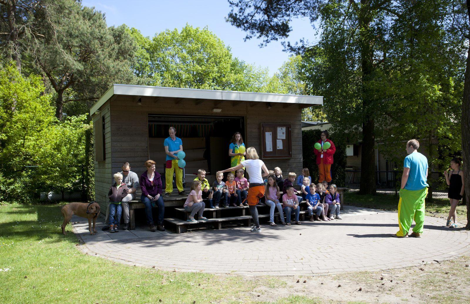 Vakantiepark met animatie Nederland