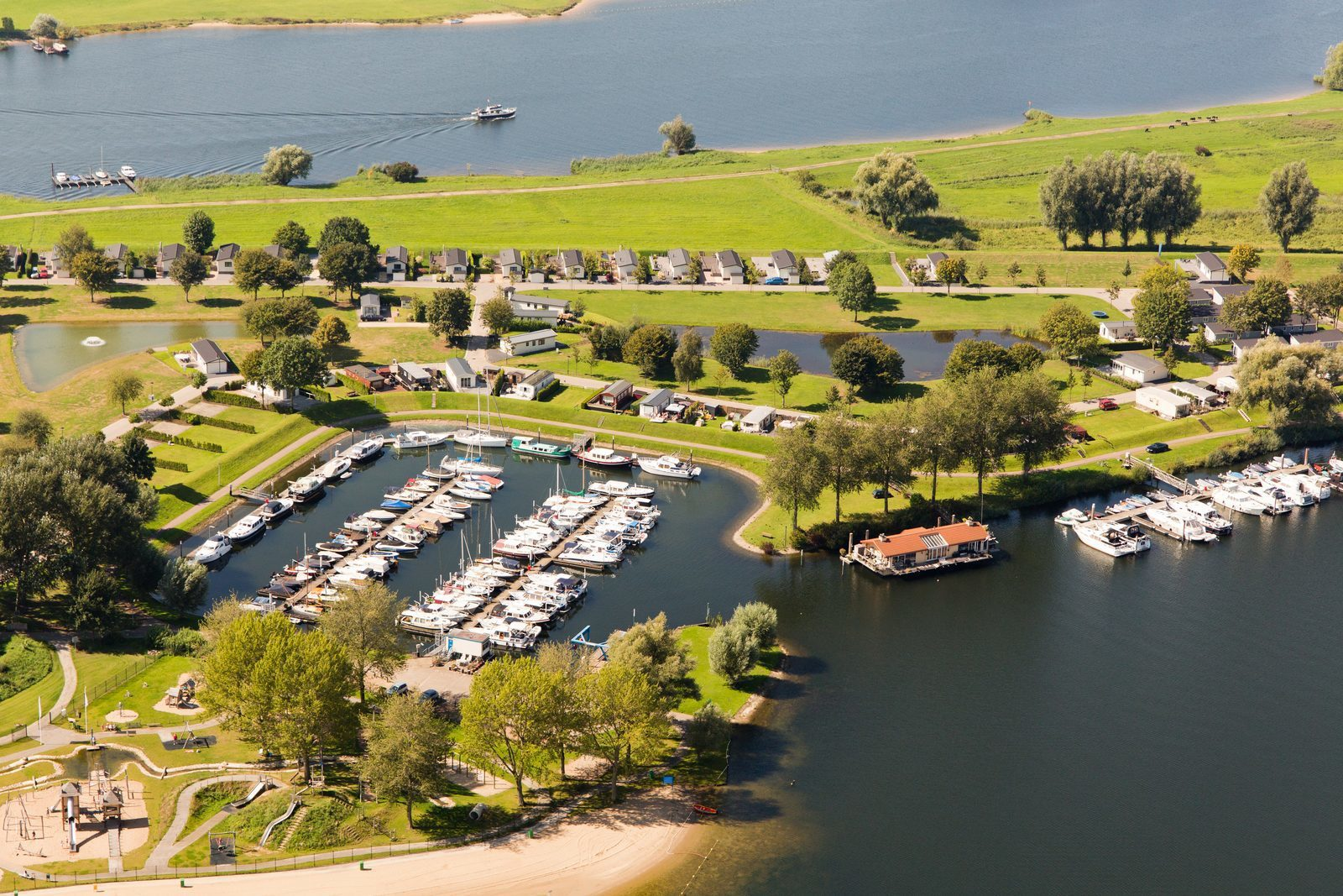 Aerial photo of Holiday park the Esmeer