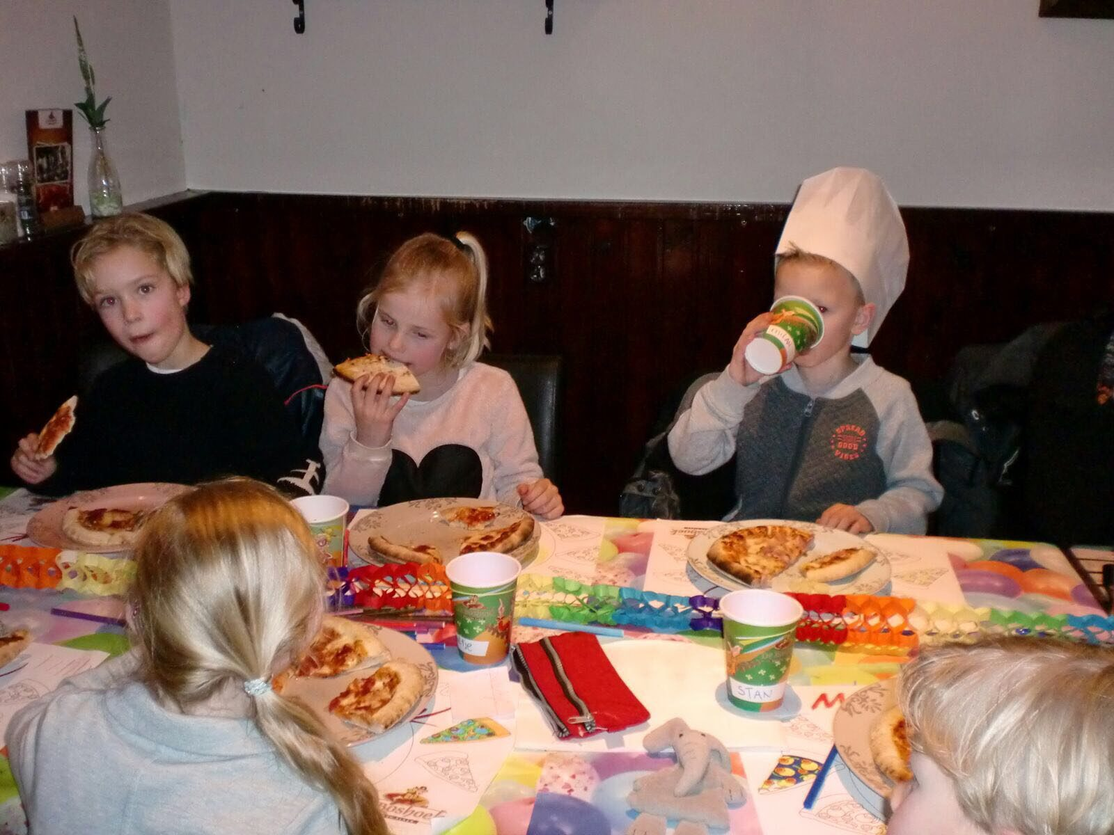 Pizza Party + koksmuts