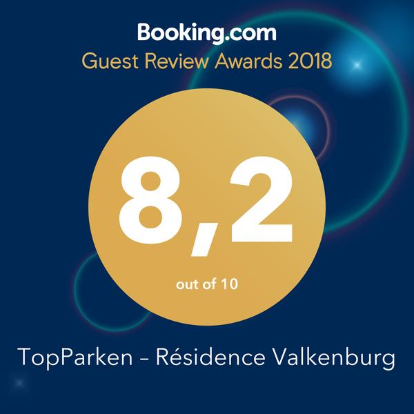 Guest Review Award pour la Résidence Valkenburg
