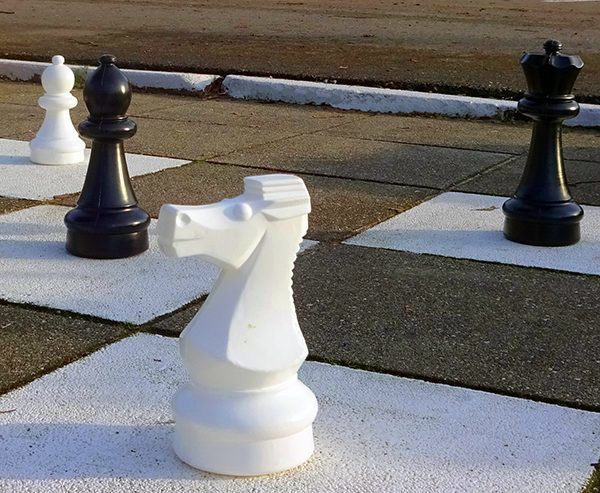 Outside chessboard