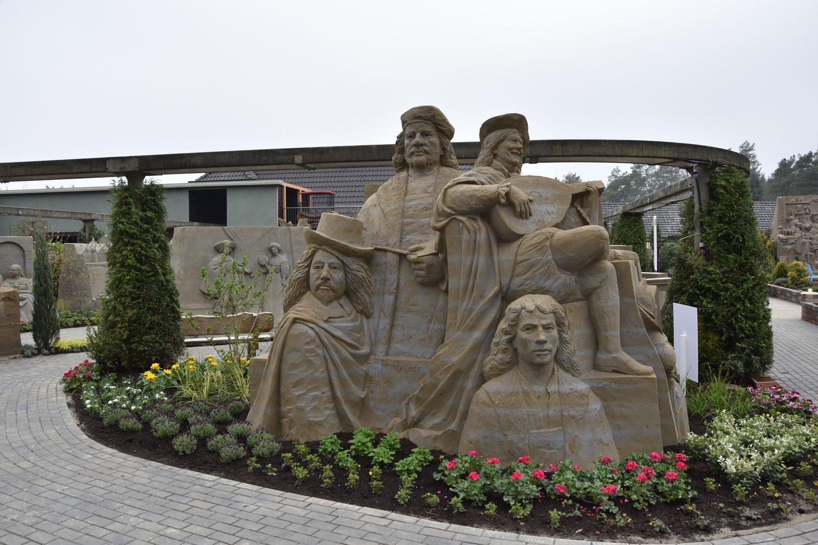 Zandsculpturen Garderen