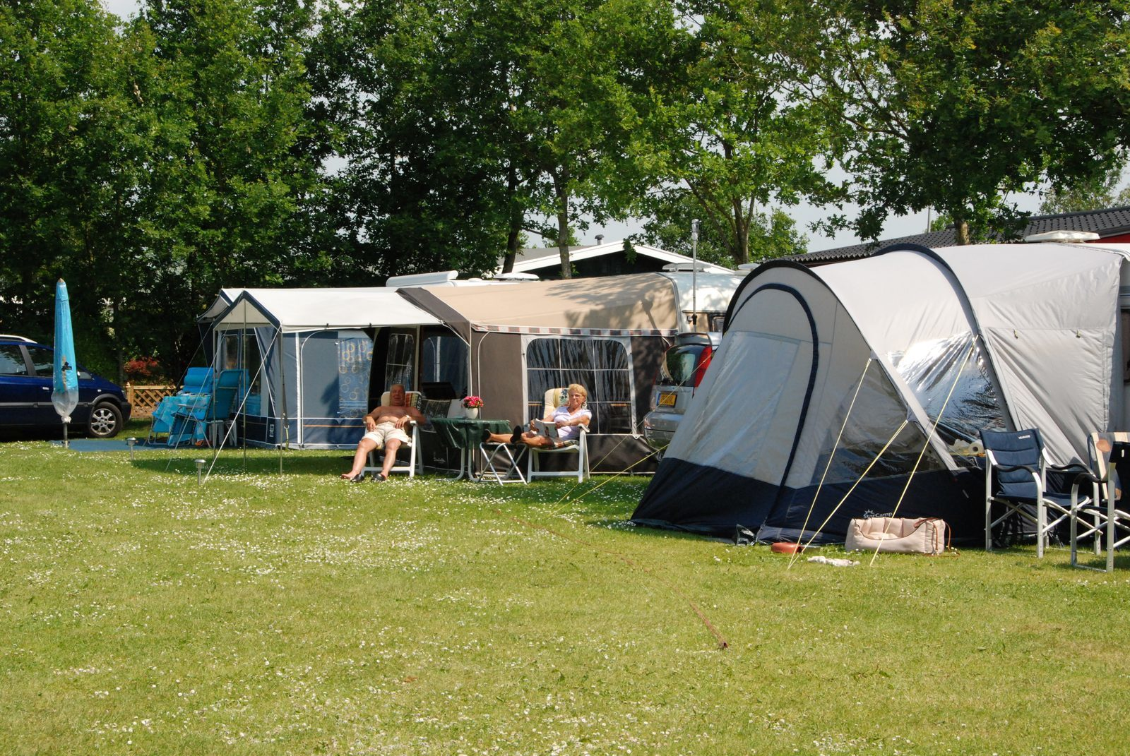 Campsites for seniors in the Netherlands