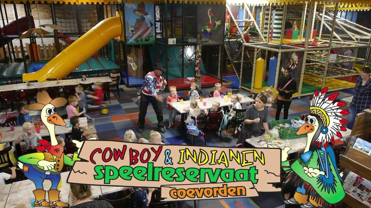 Cowboy & Indianen Speelreservaat