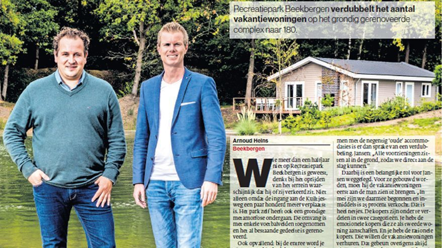 Artikel Beekbergen in De Stentor