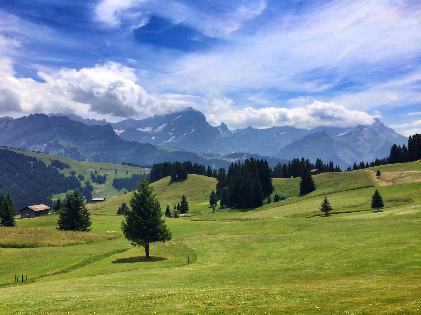 Golfing at golf club Gams-Werdenberg, -Bad Ragaz, -Heidiland, -Dormat/Ems or Lenzerheideg, from your luxury holiday home on Resort Walensee Switzerland