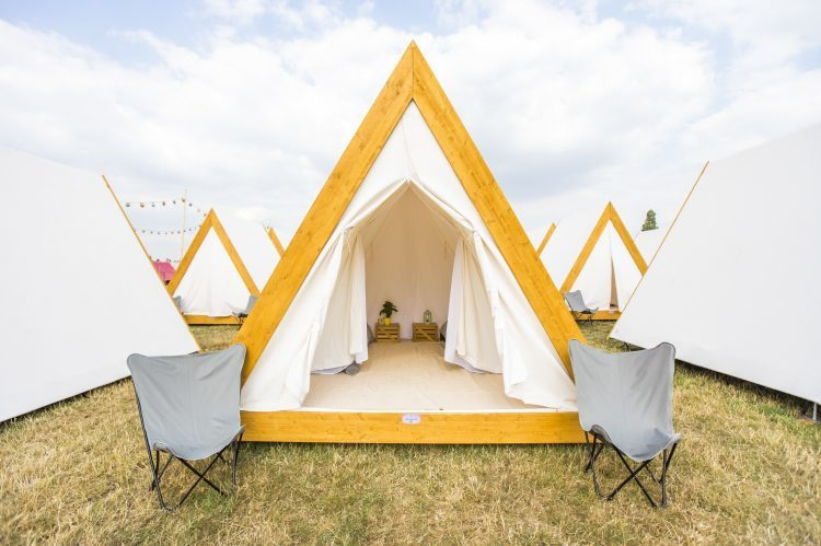 Tomorrowland glamping